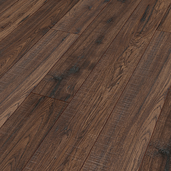 Character Hickory Brown Vancouver Laminate Flooring